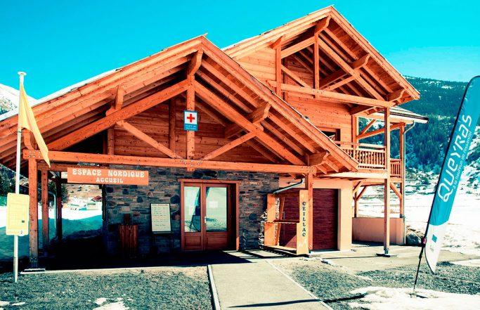 accueil ski de fond ceillac